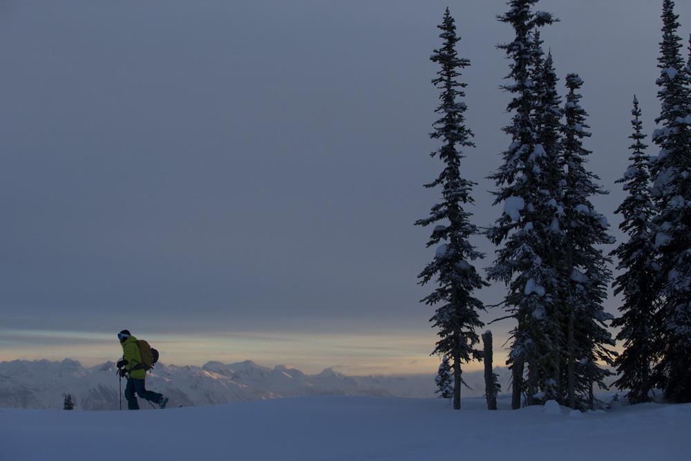 Stian Hagen, Sunrise Lodge, Esplanade Range, BC, Canada photo:Adam Clark