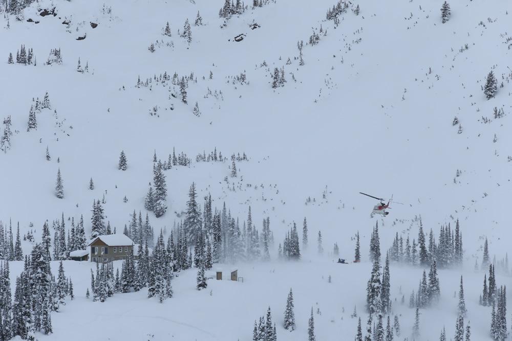 Sunrise Lodge, Esplanade Range, BC, Canada photo:Adam Clark