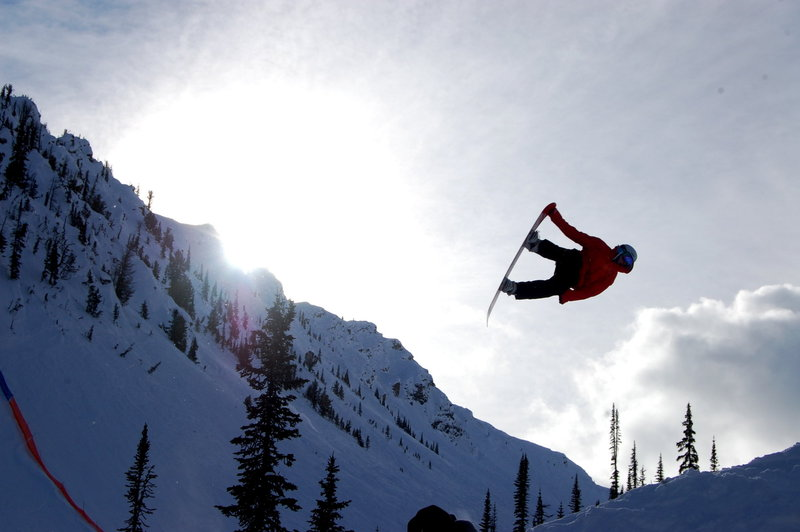 Token Snowboarder shot- Feb 5th 2011. Zoya Lynch photo