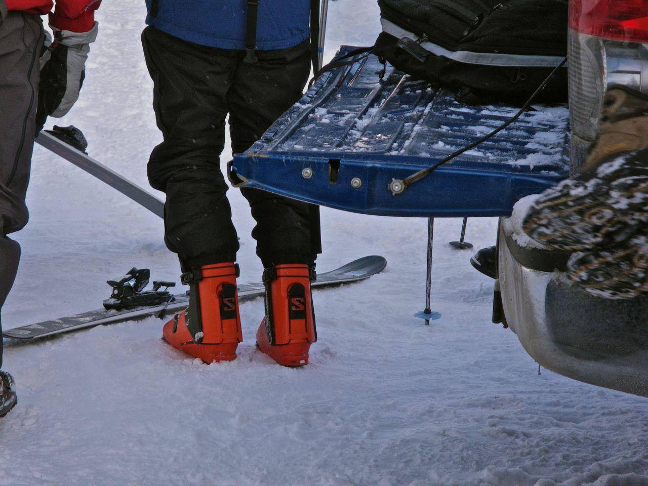Next year's Salomon boots
