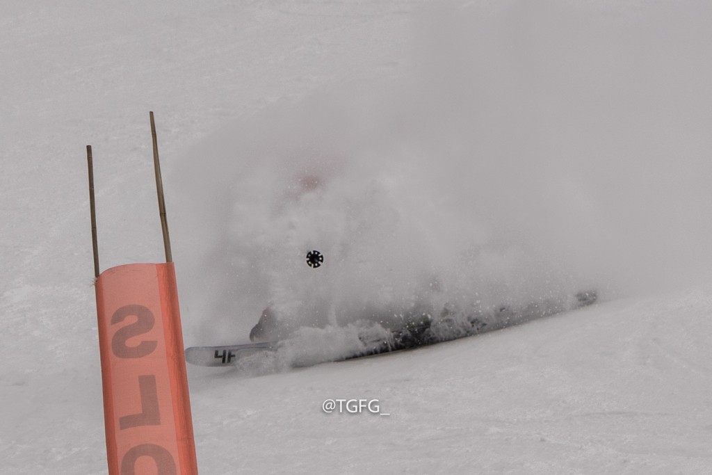 Eric Hjorleifson finds a groomer white room at RMR the next day.