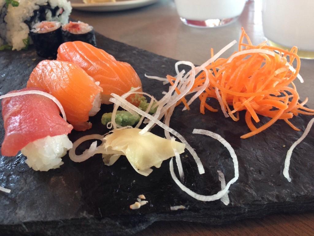 Kuma Yama sushi is seriously awesome!