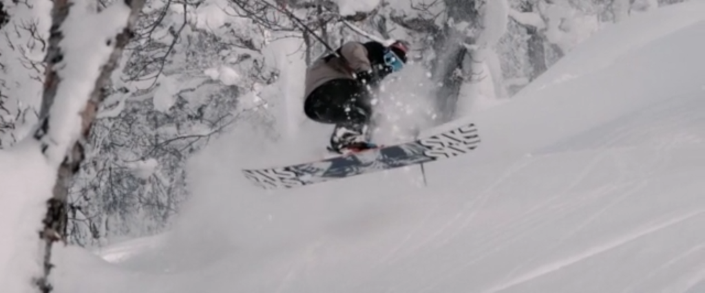 Sean Pettit snowboarding almost