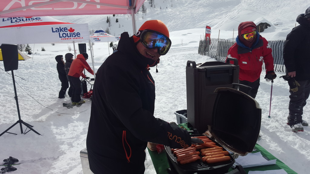 This man knows how to cook a dog proper. Thanks Rance and K2 for feeding the crowds.