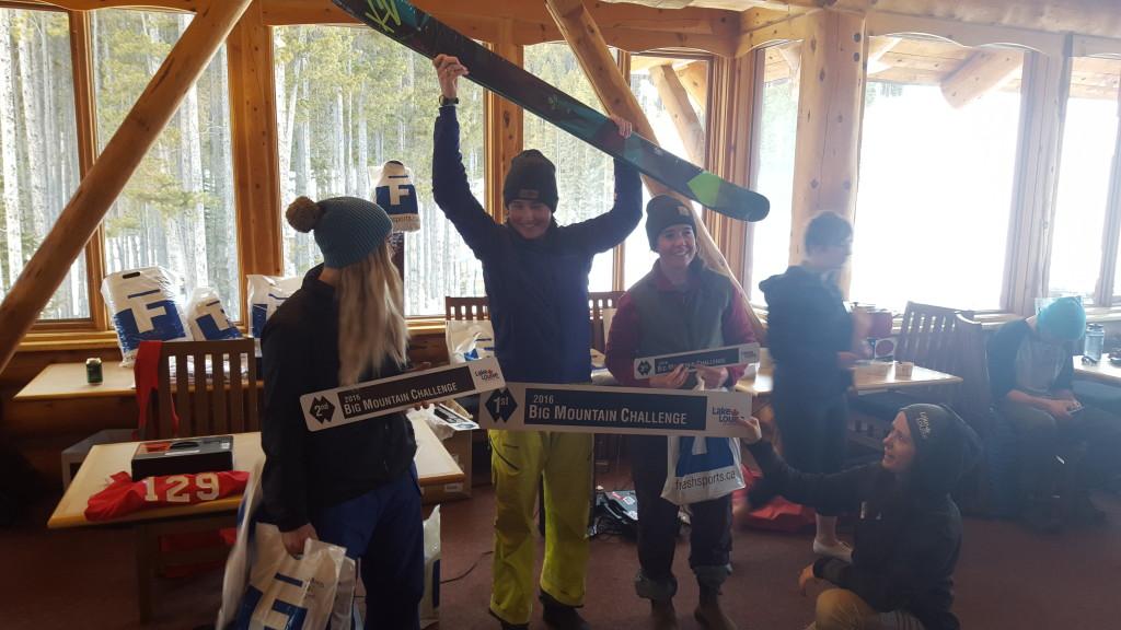 Womens Ski Winners