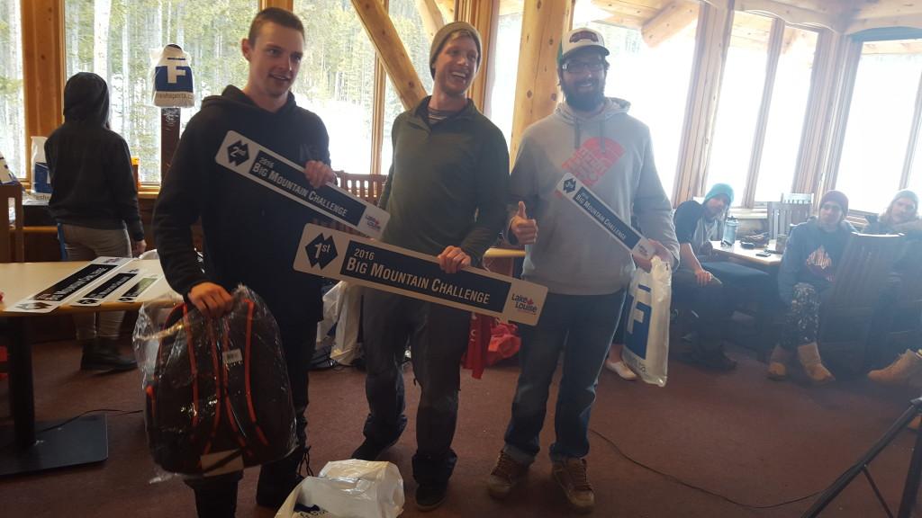 Mens Snowboard Winners