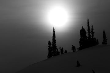 Sunrise Lodge, Esplanade Range, BC, Canadaphoto:Adam Clark
