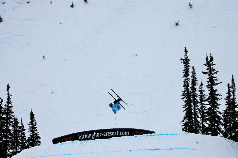 Drew Wittstock. Wrangle the Chute Feb 6th 2011. Austin Ross Photo