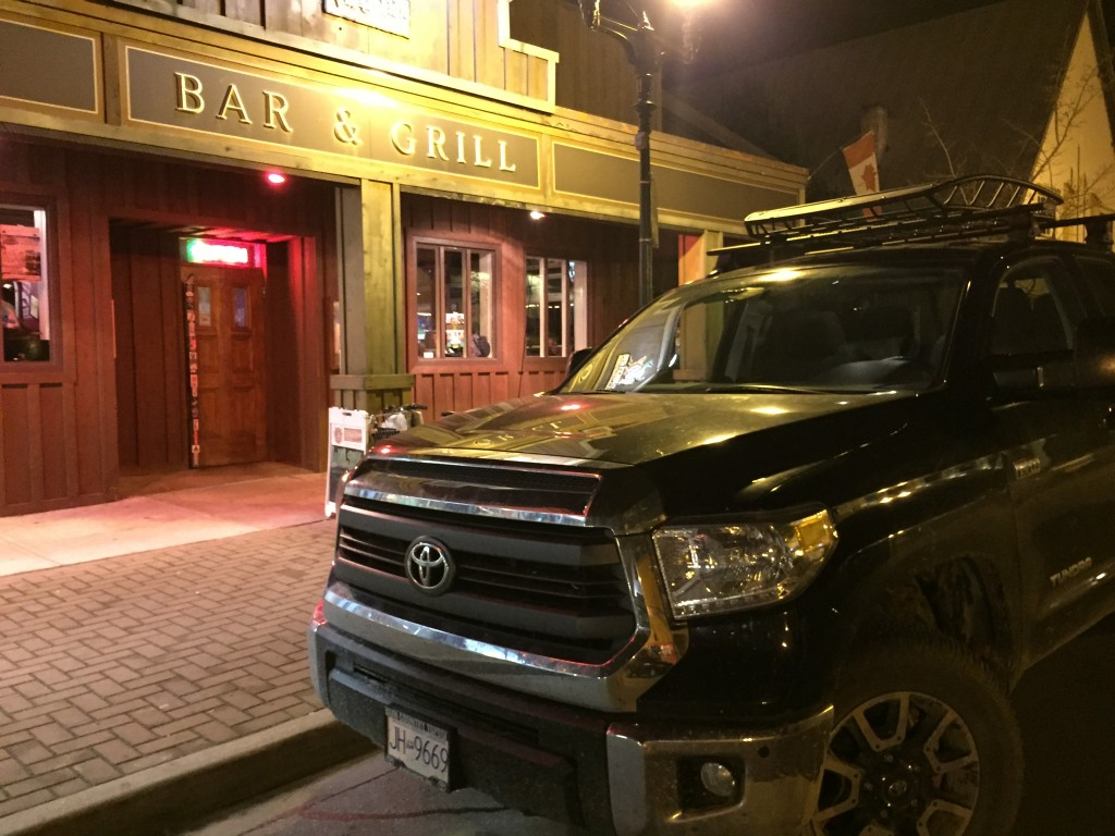 Raven One parked in front of the after party at the Village Idiot. #soberOctober