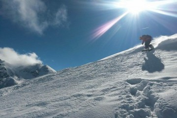 Silverton Mountain Snowboarder 2