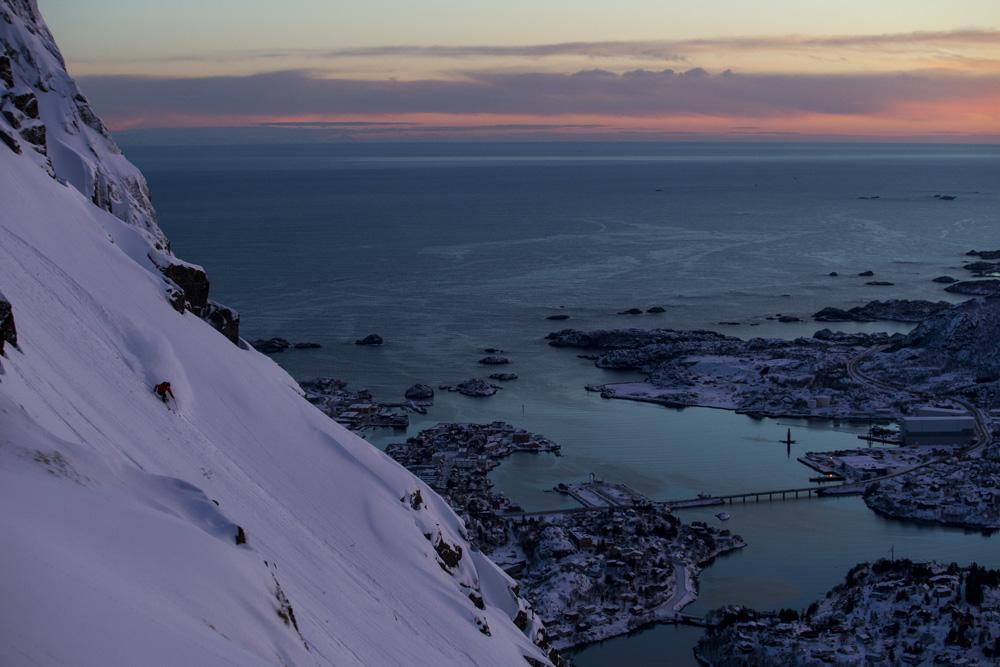 Austin Ross, Lofoten, Norway photo:Adam Clark