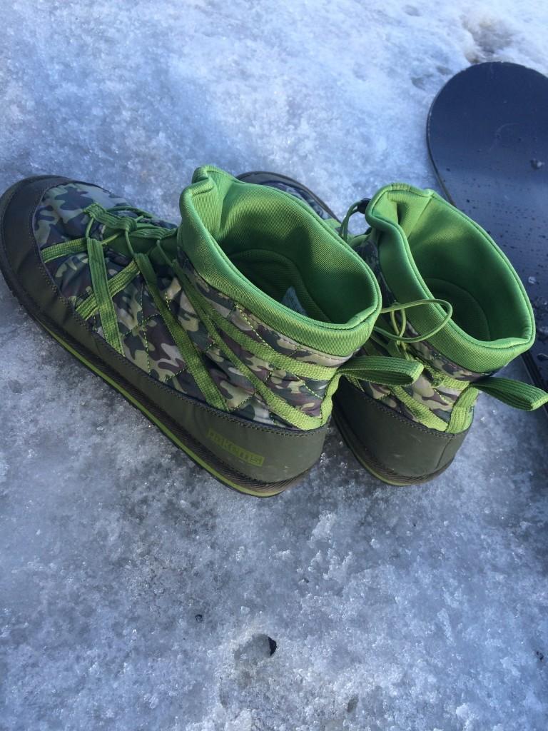Like winter flip flops