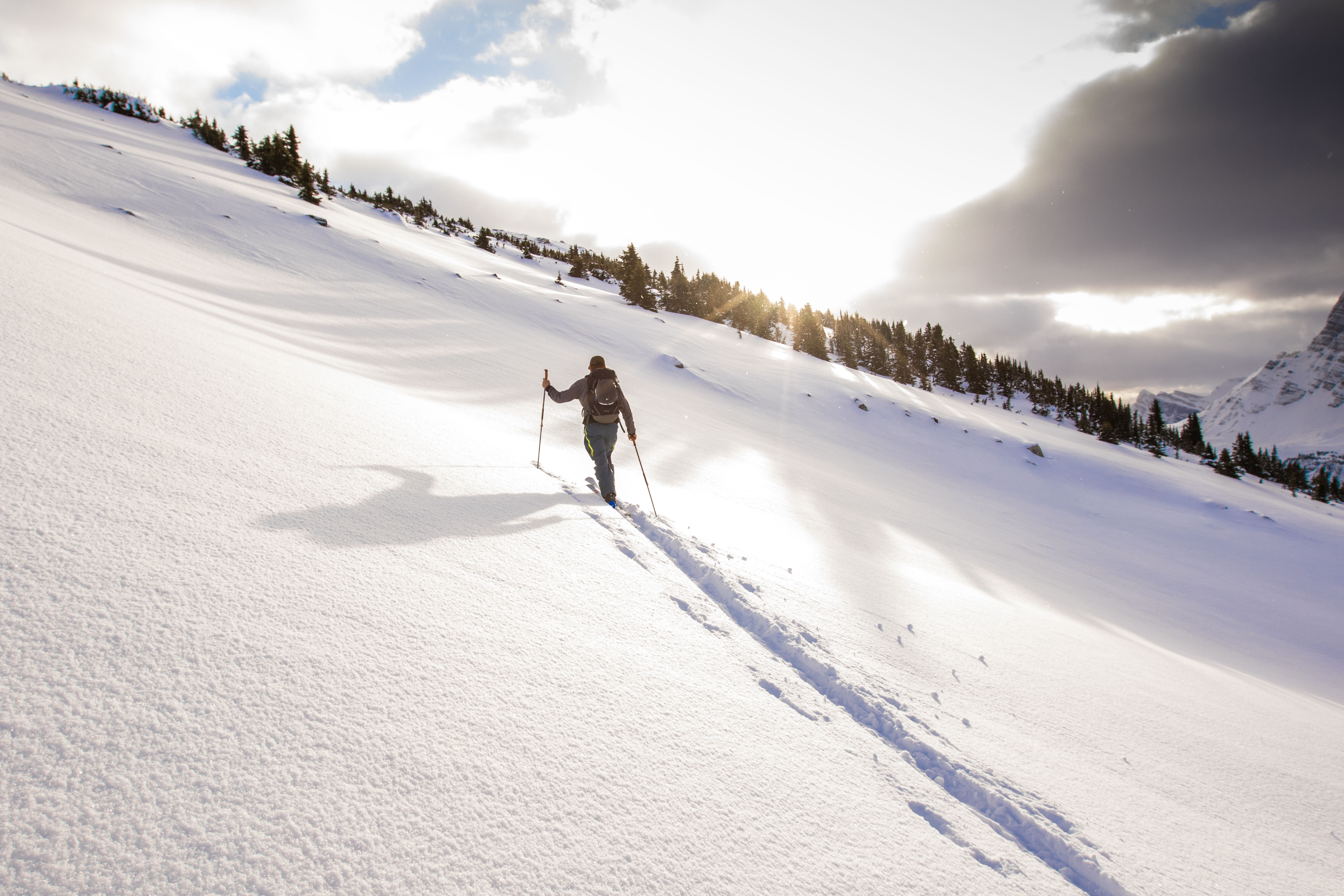 Following Kevin Hjertaas on a personal ski day on the Freedom RS 130's will hurt.