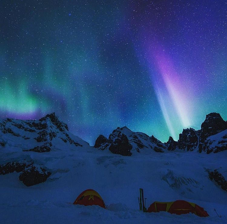 Base camp on Austerity Glacier. Fred Marmsater photo
