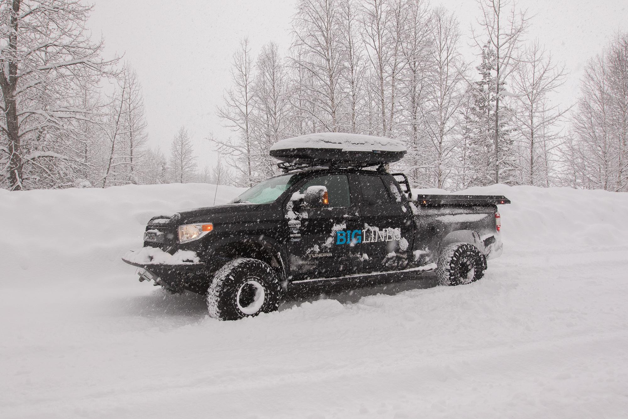 Toyota Tundra Overland Conversion Biglines